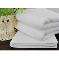 Buy cheap Weft Knitting Home Kitchen Hotel Hand Towels Durable White Cleaning Towels from wholesalers