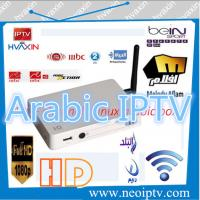 China iptv arabic channels linux OS with 400 hd iptv channels on sale