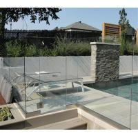 Buy cheap Aluminum U Channel Glass Balustrade with 12mm Tempered Glass Panel from wholesalers