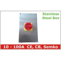 Buy cheap 63A 80A 100A Stainless Steel Boxed Isolators Electrical Disconnect Switch from wholesalers