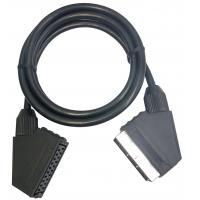 Buy cheap Scart male to female 21pin scart cable/kabel connections from wholesalers