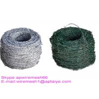 Buy cheap Q195 High Tensile Barbed Wire , Double Strand Barbed Wire For Security Fence product