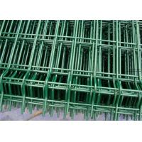 Buy cheap Green Vinyl Coated Welded Wire Fencing Panels , Welded Wire Dog Fence Multi Purpose from wholesalers