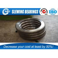 Buy cheap No Gear Excavator Slewing Ring Bearing With Large Load Bearing Capacity from wholesalers
