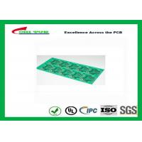 Buy cheap CEM-1 Material Single Sided PCB Panel  No X-out Allowed Lead free HASL PCB from wholesalers