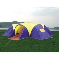 Buy cheap Glass fibre + Oxford Cloth Inflatable Party Wild Camping Tent 4 * 6 * 1.36m from wholesalers