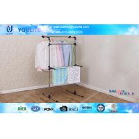 Buy cheap Bathroom / Balnocy Floor Standing Towel Rack Movable Space Saving from wholesalers