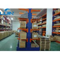 Buy cheap Powder Coating Cantilever Racking Systems For Long Material Speedy Towing Picking from wholesalers