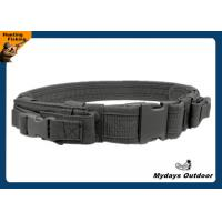 Buy cheap 2 Inch Nylon Military Tactical Belt Khaki Hunting With 2 Magazine Pouches from wholesalers