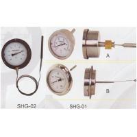 Buy cheap ±2% 4 6 Bulb Capillar Dial Gas Filled Thermometer , Stainless Steel from wholesalers
