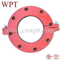 Buy cheap fm/ul approved ductile iron split flange from wholesalers