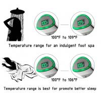 Buy cheap JK-2600 LED Thermometer Handheld Shower Heads Water Powered Light to Display Fahrenheit for Skin Health, Child and Pet from wholesalers