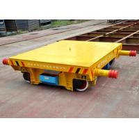 Buy cheap Flat bed foundry plant small table railway rail transport bogie from wholesalers