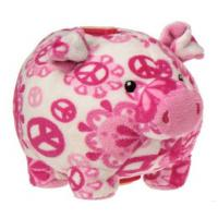 Buy cheap Fashion Pink Stuffed Animal Piggy Bank Personalized For Coin Collection from wholesalers