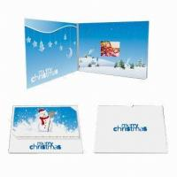 Buy cheap Customized Video Wedding Invitations , Custom Video Greeting Cards from wholesalers