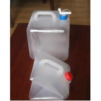 Buy cheap 10L 20L Foldable LDPE Jerry Can, Collapsible LDPE Cubitainers For Medical product