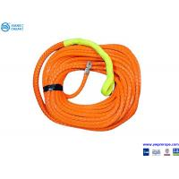 Buy cheap supermax UHMWPE orange color winch rope from wholesalers