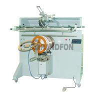 Buy cheap YZ-600R round plastic bucket tub semi-automatic silk screen printing machine from wholesalers