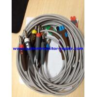 Buy cheap CAM 14 Medical Equipment Accessories ECG Leadwire Set 10 Leads Banana Connector from wholesalers