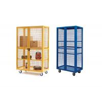 Buy cheap Pre Designed Wire Mesh Storage Cages Powder Coated Finishing Surface from wholesalers