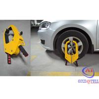 Buy cheap Safety Medium sized Car Wheel Clamp / Tyre Lock , Patent design from wholesalers