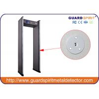 Buy cheap 255 steps Multi Zone Pass Through Metal Detector Gate , Walk Thru Safety Gate For Exhibition from Wholesalers