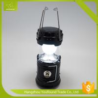 China WS-5702 OEM Handle Crank Solar Charge Telescipic LED Camping Lantern on sale