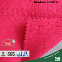 Buy cheap EN1149-3 270 gram for safety clothing and coverall 100% anti-static conductive fabric with carbon fiber from wholesalers