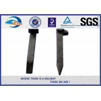 Buy cheap Galvanizeing Forging Railroad Spikes / Railway Sleeper Spikes AS1085.8 AREMA from wholesalers
