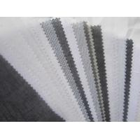 Buy cheap free sample Interlining,Double Dot Woven Fusing Interlining from wholesalers