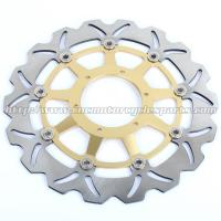 Buy cheap Durable Motorcycle Brake Disc Heat Treatment With Color Anodized product