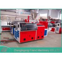 Buy cheap Simple Operation Plastic Extruder Machine Conical Twin Screw Extruder from wholesalers