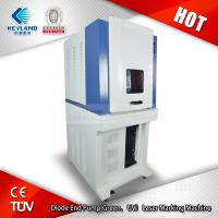 Buy cheap FOB price Diode End Pump(Green/UV)laser marking machine for silicon wafer, ceramics, plastic, rubber, epoxy resin from wholesalers