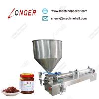 Buy cheap High Qulity Semi-Automatic Manual Peanut Butter Filling Machine,Lost Cost Peanut Butter Jar Filling Machine Price from wholesalers