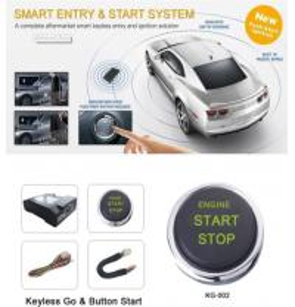 car auto engine start stop button one key start keyless go. Black Bedroom Furniture Sets. Home Design Ideas