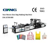 Buy cheap Shopping Bag Automatic Non Woven Bag Making Machine With Ce Certification from wholesalers