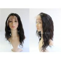Buy cheap Wet And Wavy Weave Lace Front Remy Hair Wigs , Tangle Free Hair Extensions from wholesalers