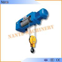 Buy cheap 50HZ 20Ton Electric Wire Rope Hoist Lifting Equipment Remote Control from wholesalers