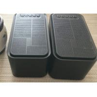 Buy cheap ABS Black USB Mini Portable Bluetooth Speaker With FM Radio Alarm Clock from wholesalers