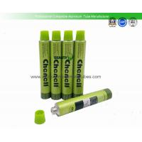 Buy cheap Hair Dye Cream Aluminum Collapsible Tubes 20ml Volume 100mm Length With Screw  Caps from wholesalers