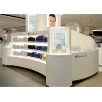Buy cheap Contemporary Beautiful Cosmetic Display Case Custom Made Logo And Size from wholesalers