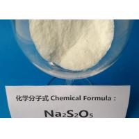 Buy cheap Sodium Metabisulfite Safety For Rubber Industry , Sodium Metabisulfite In Food Preservation  from wholesalers