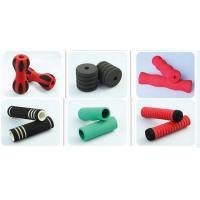 Multi Color Rings Motorcycle Sponge Handlebar Grips / Bike Handle Grips Screen Printing