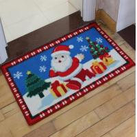 Buy cheap Happy Christmas Anti Slip Bath Floor Mat In Nylon Material, Best Gift For Kids,Size 40*60CM from wholesalers