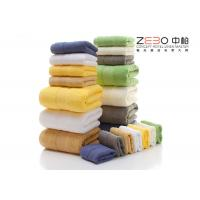 Buy cheap Comfortable Hotel Hand Towels 100 Cotton White / Green / Pink / Blue Color from wholesalers