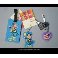 Buy cheap hot selling promotion gifts cartoon luggage tag, soft pvc luggage tag, id card luggage tag from wholesalers