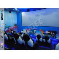 Buy cheap Blue Ocean Theme Park Dynamic 7d Cinema Equipment Large HD Arch Screen product