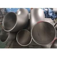 Buy cheap 90 Degree Stainless Steel Pipe Fittings , ASME B16.9 Stainless Steel Elbow Fittings from wholesalers