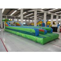 Buy cheap Attractive Inflatable Bungee Jump / Runway , Kindergarten Baby Bungee Run Bounce House from wholesalers