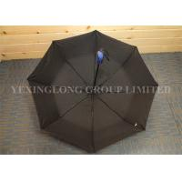Buy cheap Pongee Material Self Opening And Closing Umbrellas , Totes Mini Automatic Umbrella from wholesalers
